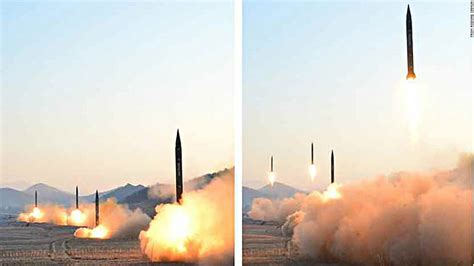 north korea missile north korean missile launch practice to hit us bases in