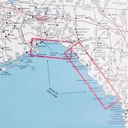 panacea florida map top spot fishing map n231 panacea to apalachee bay area