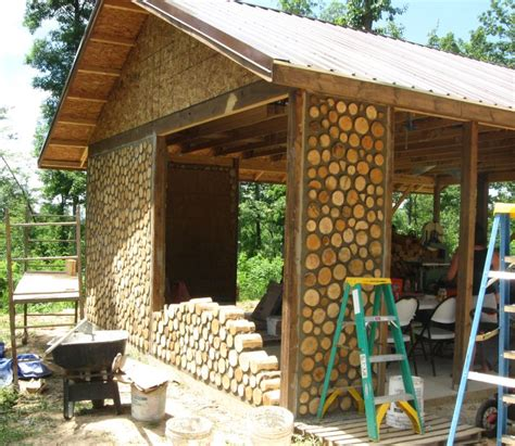 hungarian cordwood by tamas abel cordwood construction