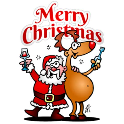 christmas martini png merry christmas santa claus and his reindeer are having a