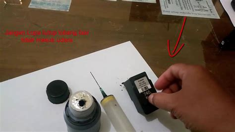 Tinta Printer Suntikan Tutorial Printer Canon Mx 397 Pengisian Tinta Pakai