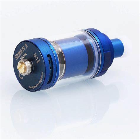 Siren 2 Rta 22mm Authentic By Digiflavor Atomizer For Vaporizer Vape authentic digiflavor siren 2 v2 mtl rta blue ss 2ml 22mm atomizer