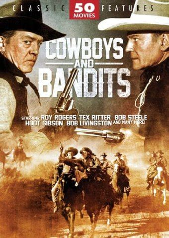 cowboy film collection cowboys and bandits 50 movie collection 12 dvd starring