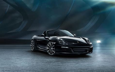porsche boxster 2015 black 2015 porsche boxster black edition wallpaper hd car