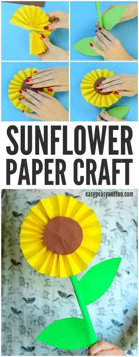 Sunflower Paper Craft - 7058 best crafts images on crafts for