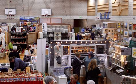 craft fair off to flying start shetland news