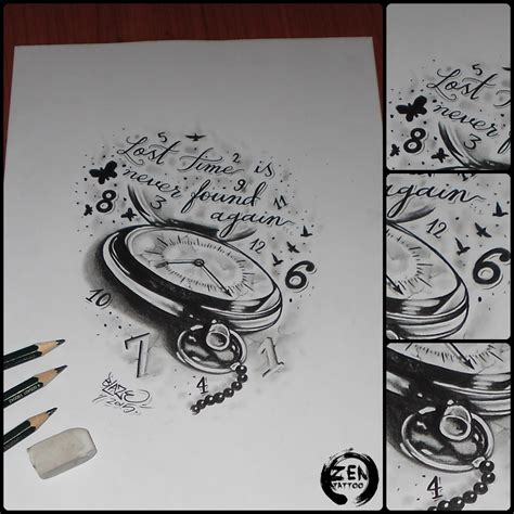 time clock tattoo designs 1000 ideas about clock design on clock