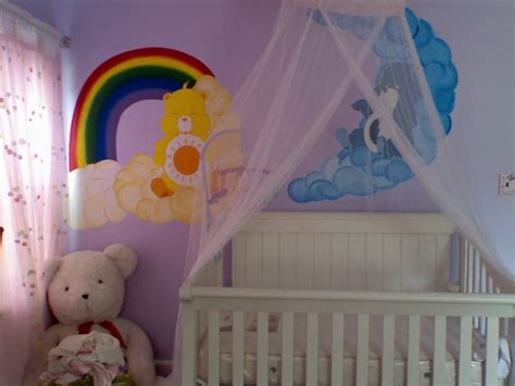 Care Bears Nursery Decor Care Mural