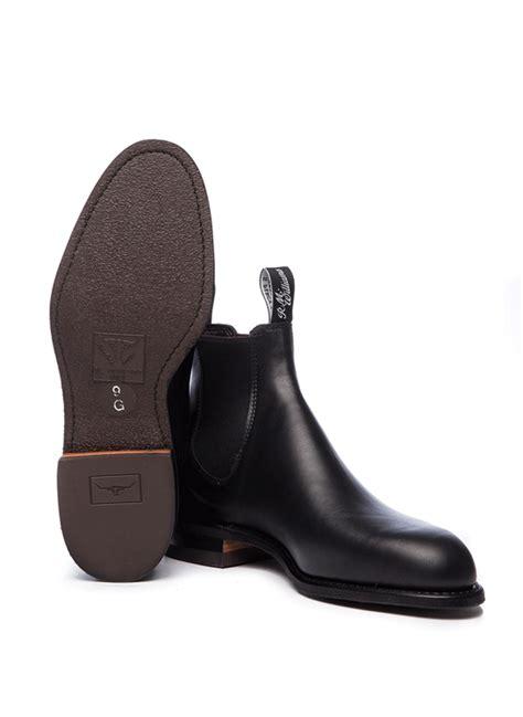 comfort r r m williams comfort craftsman black boots bredon hill