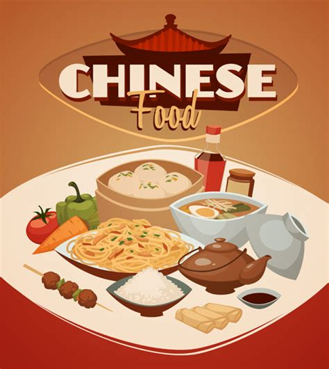 foreign cuisine international cuisine publicize template vector 03