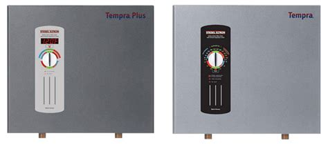 Whole house electric tankless water heaters