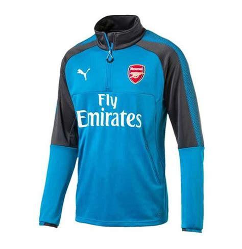 Sweater Half Zipper Arsenal Blue 3rd 2017 2018 arsenal half zip top blue for only a 114 86 at