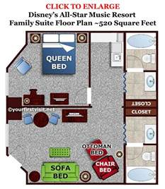 disney art of animation family suite floor plan accommodations in the family suites at disney s art of
