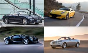 new car america most expensive new cars in america 187 autonxt