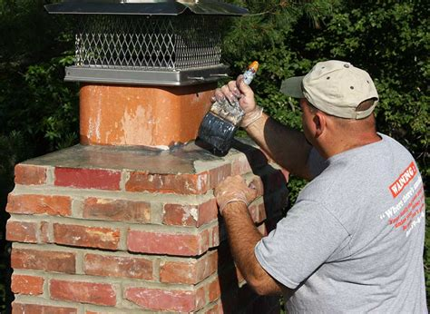 Chimney Mortar Cap Repair - crown repair cherry hill nj s chimney service