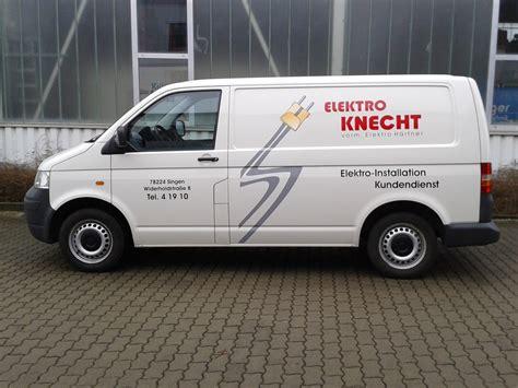 Fahrzeugbeschriftung Elektro by Fahrzeugbeschriftungen Neon Stengele Singen Am Hohentwiel