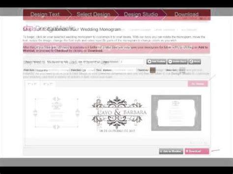 designmantic youtube tutorial para criar monogramas fa 231 a voc 234 mesma youtube