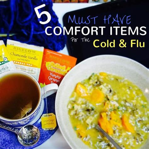 Comfort Items by Comfort Items Cold Flu Homestead Wishing