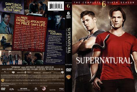 Supernatural Season 6 supernatural season 6 custom tv dvd custom covers supernatural season 6 custom dvd covers