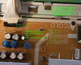 how to fix samsung tv capacitor problem i a samsung ln t4069f that goes into cycling power after a time of being powered on
