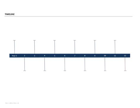 timeline template for word timeline template