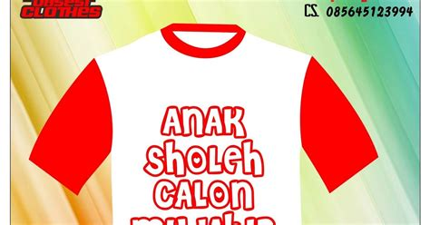 Kaos Anak Muslim Islami Anak Sholeh Xl Bu anak sholeh c m kaos distro muslim stylish unique and