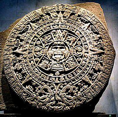 Calendario Solar Azteca Religi 211 N Y Filosof 205 A De Los Aztecas O Mexicas Historia