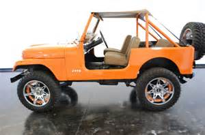 orange jeep cj jeep cj7 orange 1978 for sale photos technical