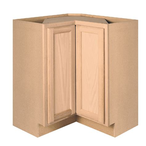 unfinished blind base cabinet unfinished oak blind corner base cabinet mf cabinets