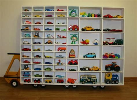wall decorating  toy cars kids storage