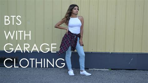 bts with garage clothing