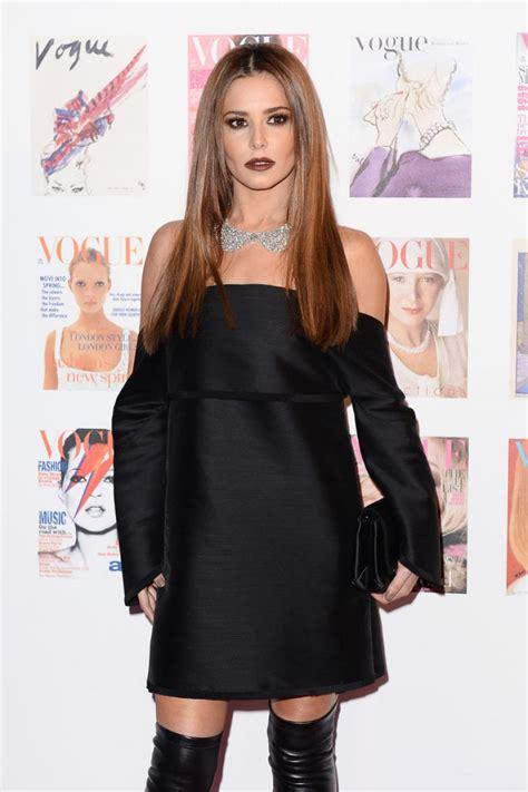 sheryl 100 from usa fashion news cheryl cole at vogue 100th