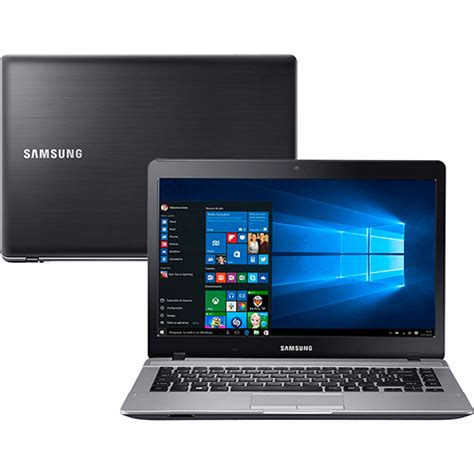 Led Notebook Samsung notebook samsung essentials intel dual 4gb 500gb tela