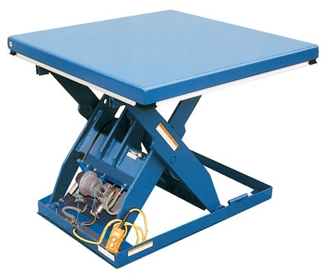 rotary air hydraulic scissor lift tables washington