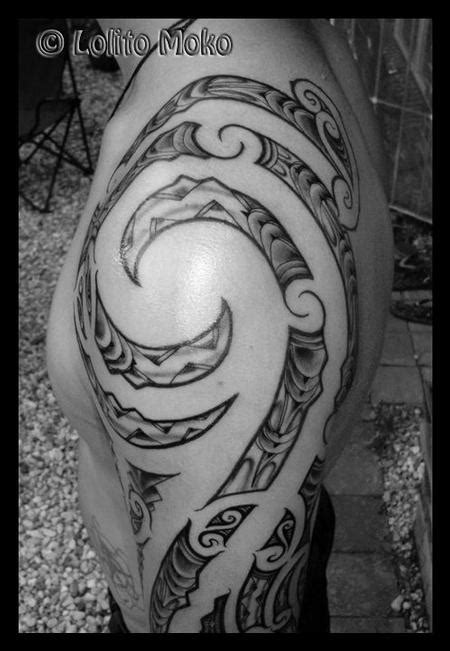 tribal arm piece tattoos tribal arm by lolito moko tattoonow