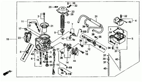 2003 honda rubicon trx500fa wiring diagram 2003 wirning
