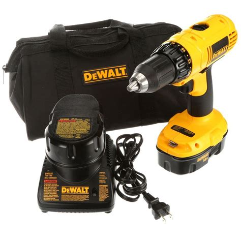 dewalt 18 volt nicd cordless 1 2 in compact drill driver