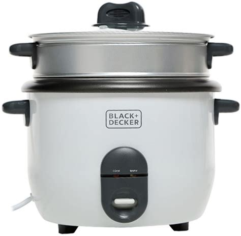 Black Decker Rice Cooker 1 8 souq black decker 1 8 liter rice cooker white