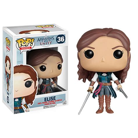 Funko Elise Pop Vinyl 5254 funko pop assassin s creed vinyl figure elise