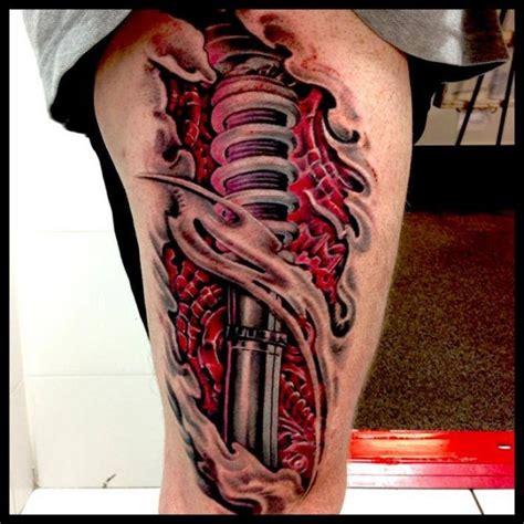 tattoo 3d pierna 83 best images about tattoos on pinterest wings leg