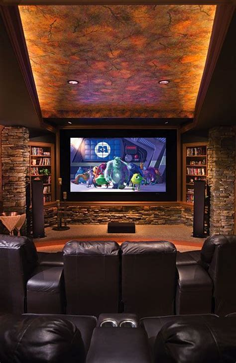 awesome home theater man cave for the home pinterest