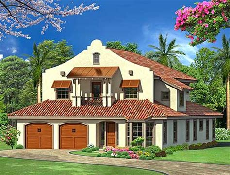 mission style home plans mission style in two versions 36347tx 2nd floor master