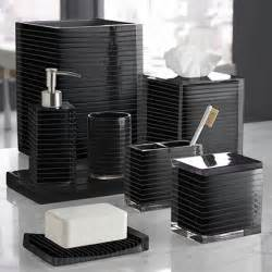 Black Accessories For Bathroom Classic Look With White And Black Bathroom Accessories Bath Decors