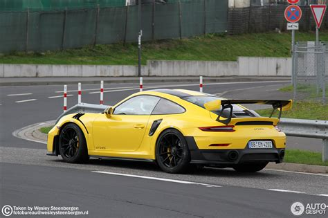 Porsche 991 Gt2 Rs by Porsche 991 Gt2 Rs Weissach Package 17 August 2017
