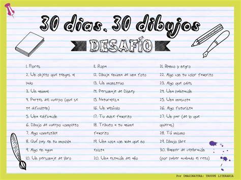 libro 30 days to a 1 reto 30 d 237 as 30 dibujos leer dibujar so 241 ar bujo reto 30 dias 30 d 237 as