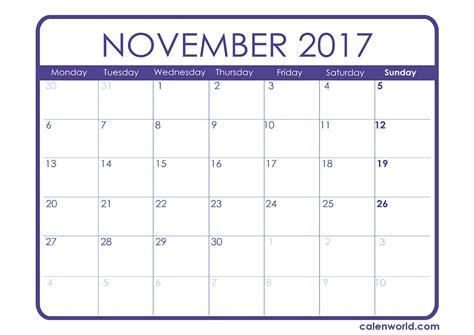 weekly calendar excel printable 2017 calendars