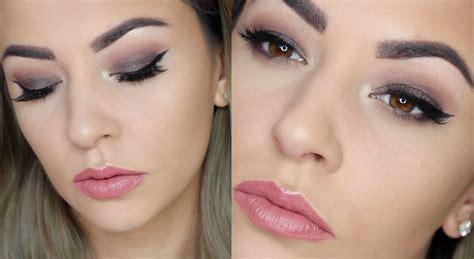 makeup tutorial eyeliner for hooded eyes drugstore smokey eye makeup tutorial hooded eyes youtube
