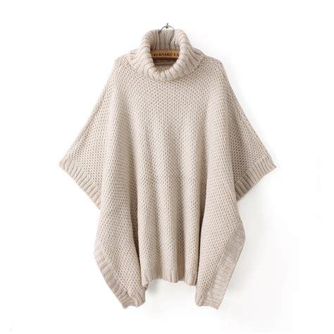 Turtleneck Batwing Sweater beige turtleneck batwing sweater top wc022 on luulla