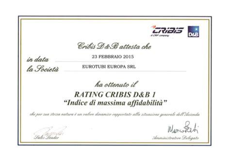 Eurotubi Milanese by Eurotubi E Vimoter Top Nel Rating Cribis Ed Elette