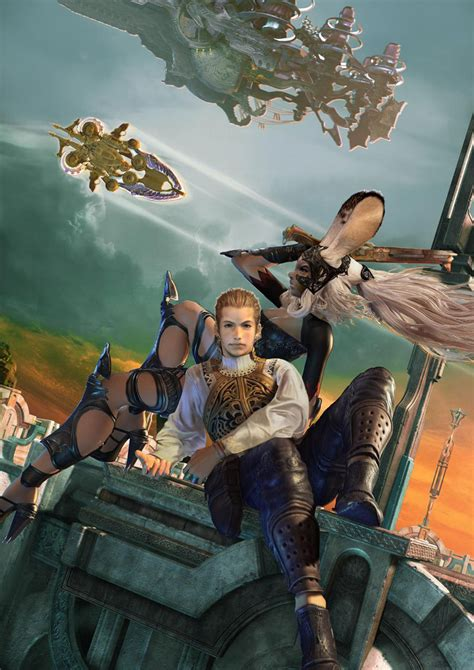 fran final fantasy 12 time for another gender swap fran balthier go make